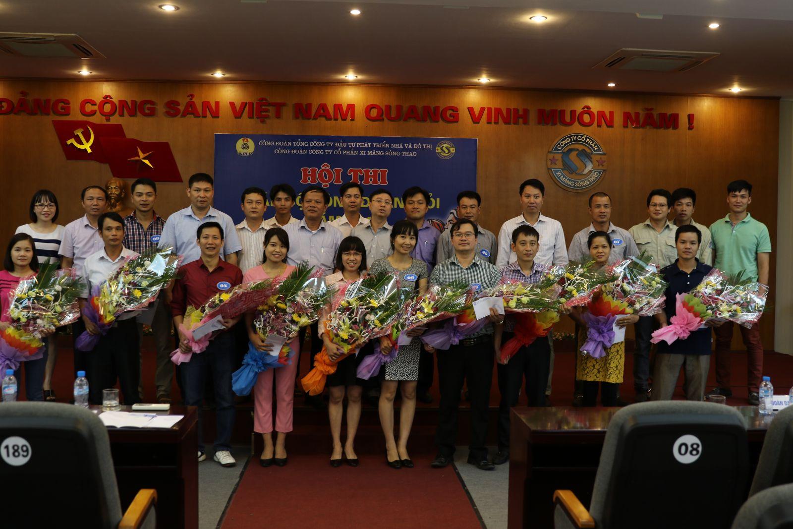 Hội thi Cán bộ Công đoàn giỏi năm 2016