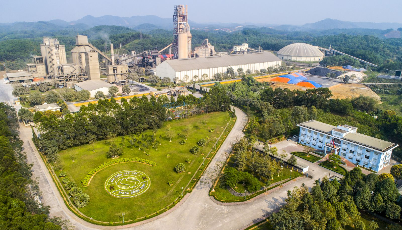 Hình ảnh Flycam Nhà máy